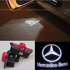 2 x LED door courtesy laser projector light For Mercedes C-Class W204 2007-2014