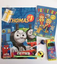 Thomas Tank party bags pre filled, toys and sweets , fast post