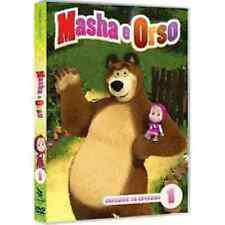 Dvd MASHA e ORSO - Volume 1 - (2015) *** Include 8 episodi ***.....NUOVO