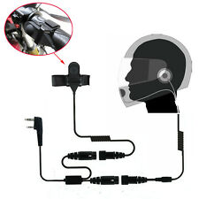 Motorcycle Helmet Headset Earpiece for Wouxun KG-UV8D KG-UV6D KG-UVD1P Radio