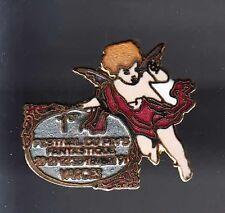 RARE PINS PIN'S .. SALON SHOW EXPO FABRICANT ANGE ANGEL VARCES 1991 ~BB