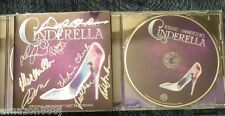 SIGNED Cinderella by Original Broadway Recording CD 2013  LAURA OSNES