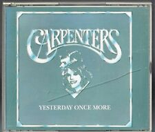 Yesterday Once More by The Carpenters (2 CD Japan Import Set)w/2 lyric Sheets