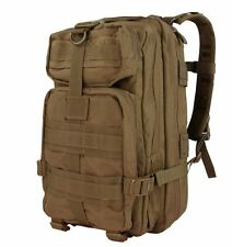 CONDOR MOLLE Tactical Nylon Compact Assault Pack Backpack 126 498 COYOTE BROWN