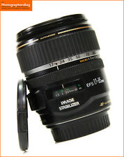 Canon EF-S IS 17-85mm F4 -5.6 Manual Focus only Zoom Lens EOS SLRs Free UK Post