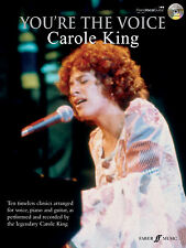 Youre The Voice Carole King Pop Piano Voice Guitar SONGS FABER Music BOOK & CD
