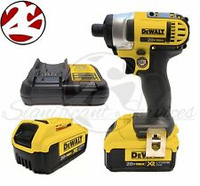 "NEW DeWALT DCF885 20V MAX 1/4"" XR Lithium Ion DCB204 Impact Drill Driver Kit"