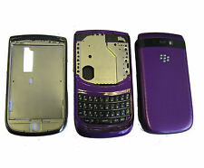 Blackberry Torch 9800 Fascia Housing Battery Cover Case Keypad Purple UK