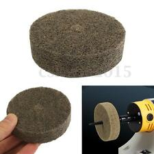 3'' 75mm Nylon Fiber Round Polishing Polisher Buffing Pad Mop Wheel For Rotary