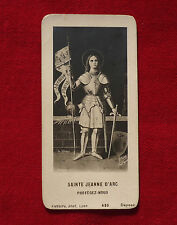 SAINTE JEANNE D'ARC PROTEGEZ NOUS  :   IMAGE PIEUSE  !