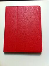 WOW P-029 Red LEATHER IPAD 2/3 CASE PROTECTIVE COVER