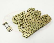 Heavy Duty Motorcycle O-Ring Drive Chain 520-114 Gold Kawasaki KLE650 Versys 08