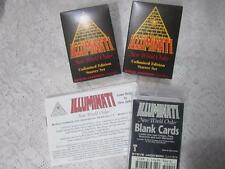 * STARTER SET Unlimited * Illuminati Card Game * INWO * NEW WORLD ORDER * NUKE