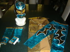 SMALL KIDS SUIT 3-5 year LYCRA SIN CARA WWE FANCY DRESS COSTUME OUTFIT CHILDRENS