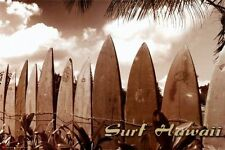 SURF HAWAII - JASON ELLIS POSTER 24x36 - SURFBOARDS SURFING BEACH 36402