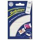SELLOTAPE STICKY FIXERS PACK OF 56 DOUBLE SIDED STRONG PERMANENT FOAM PADS