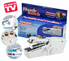 Handy Stitch Cordless Portable Sewing Machine Stapler Hand-Held