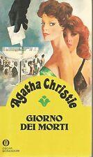 Lotto 2 libri gialli Agatha Christie - Giorno dei morti / I primi casi di poirot