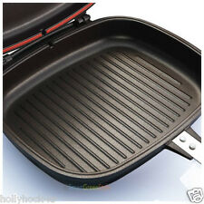 Brand New Happycall  Double Sided Pan Pressure Jumbo Grill Frying Pan Diamond
