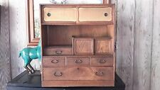 Japanese ANTIQUE  Cha TEA Tansu Dansu Chest Cabinet