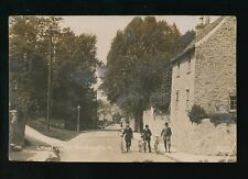 Gloucestershire Glos BRISTOL Shirehampton Lower Village 1910 RP PPC crease