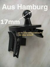 #29 Lüftung Halterung Halter Kugel Aufnahme 17mm auch für Garmin 510 550