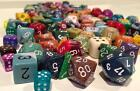 Chessex 1/4 Pound O Dice d4 d6 d8 d10 d12 d20 sided Pound of Dice  -Free Ship!