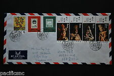 China PRC T74, J99 Sets, T86 8f on Cover - Addressed to Singapore 1984.5.3