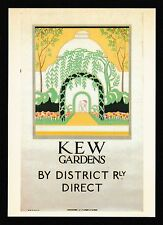 London Transport Museum Underground Railway Poster Modern Postcard LTM 186