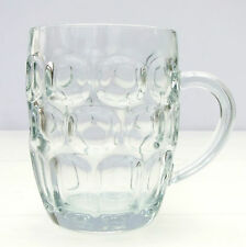 Vintage Retro Ravenhead Pint Pot Dimple Glass Tankard