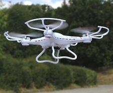 """RC MAXI UFO Quadrocopter Drohne """"300 METER REICHWEITE"""" mit KAMERA 2,4GHz   60050"""