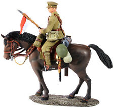 BRITAINS 23062 - 1916-18 British Lancer Mounted No.1
