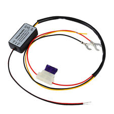 DRL Controller Auto Car LED Daytime Light Relay Harness Dimmer On / Off Timer q#