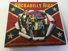 Various Artists: Rockabilly Riot (CD) 2 CD 5060255181225