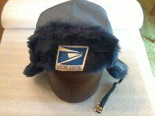Postal Winter Trooper Hat, Large (7-3/8), Langenberg Hat Co., Salesman's Sample