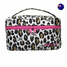 Women Girl Leopard Cosmetic Toiletry makeup Organiser Travel Bag Pouch Case