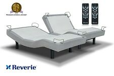 SPLIT KING REVERIE 5D ADJUSTABLE BED*WITH 10 MASSAGE INTENSITY'S