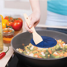 Useful Baking Mixing Bowl Guard Covers Pots Shield From Splatter Random Color