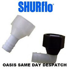SHURFLO PUMP FITTINGS ELBOW / STRAIGHT 1/2""