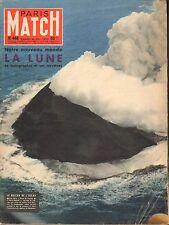 PARIS MATCH N°446 lune caroline monaco drame valence volcan acores elisabeth