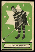 1933-34 V304A O-PEE-CHEE SERIES A~#25~FRANK FINNEGAN HOCKEY CARD~SENATORS LEAFS