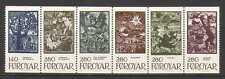 Faroes 1984 Fairy Tale/Folk Stories/Animated/Art/Woodcuts/Birds/Ox 6v stp n20244