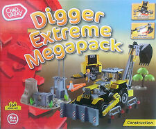 Digger Extreme Mega Pack - Chad Valley - Kids Toy - 359 Pieces ** GREAT GIFT **