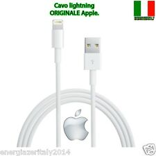 CAVO DATI LIGHTNING APPLE ORIG OEM IPHONE 5 5S 5C 6 6PLUS 6s IPAD4 USB MD818ZM