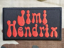 ECUSSON PATCH toppa aufnaher THERMOCOLLANT JIMI HENDRIX groupe rock / 9.4X5.3cm