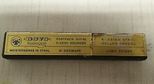 Dovo Solingen Straight Razor Leather Case Vintage