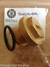 Land Rover Defender 300tdi Brass Radiator Thermostat Plug - Bearmach Brand