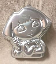 Wilton DORA THE EXPLORER Cake Pan Mold Tin 2105-6305 Viacom 2010