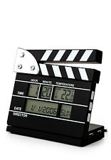 Clapper board alarm clock 4 port computer expansion USB hub