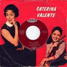 "7"" Caterina Valente –- Arcobaleno (Somewhere Over The Rainbow) // Germany 1961"